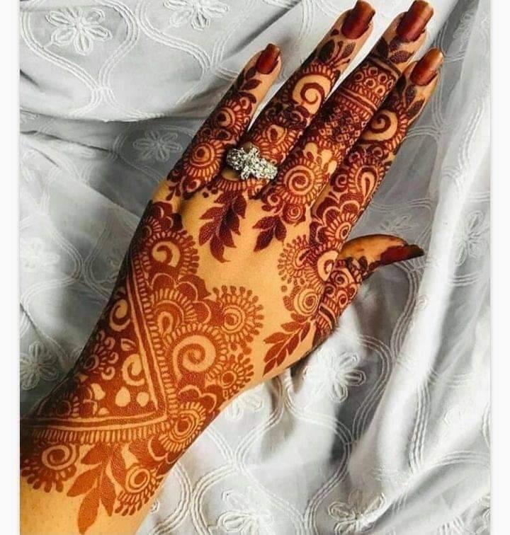 most beautiful mehndi design