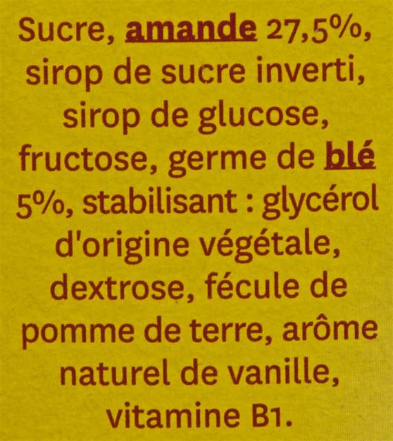 Barre amande Gerblé - Amande - Ingrédients - Sport - Nutrition - Food - Manger - Snack - Almond