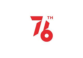 logo hut ri 76 resmi