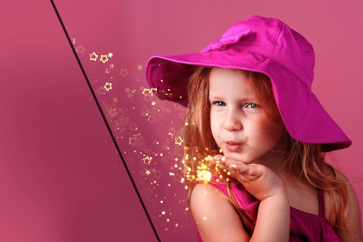 29 Blowing Glitter Photo Overlays (ATN, JPG)