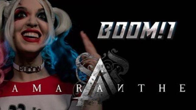 "VICKY PSARAKIS (The Agonist): Ακούστε τη διασκευή της στο ""Boom!1"" των Amaranthe"