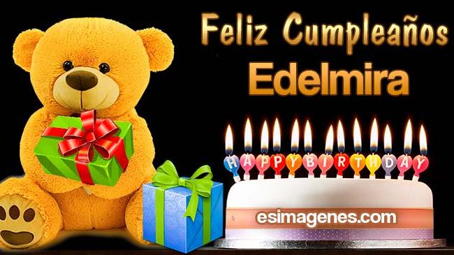 Feliz Cumpleaños Edelmira