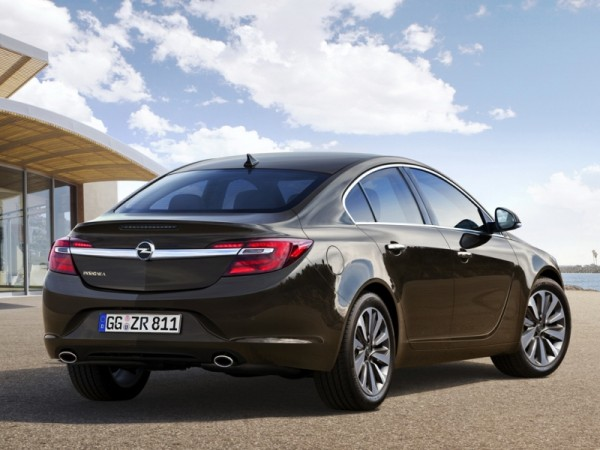 preview opel insignia facelift 2013 carsbond. Black Bedroom Furniture Sets. Home Design Ideas