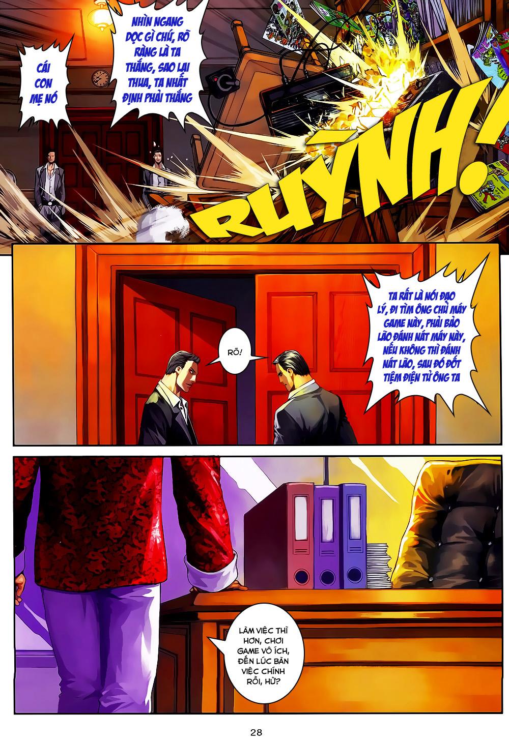 Quyền Đạo chapter 2 trang 27