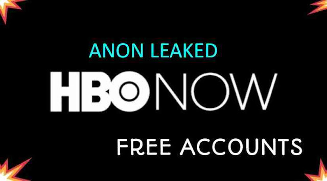 Combo List Free HBO Now Accounts Username and Passwords by Anon Leaked