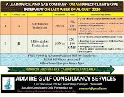 A LEADING OIL AND GAS COMPANY -OMAN J