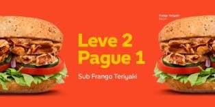 Promoção Subway Leve 2 Pague 1 Agosto Setembro 2018 Tempo Limitado