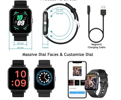 Xercise 1.7-inch TFT-LCD full HD Smart Watch