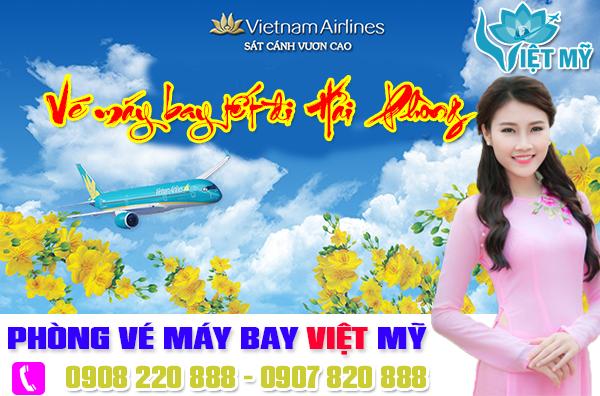 Vé máy bay tết đi Hải Phòng Vietnam Airlines