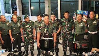 Istri Posting Nyinyir soal Wiranto, Dandim Kendari Dicopot dan Ditahan