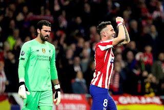 Atletico 1-0 Liverpool: Saul leaves misfiring Reds mountains to climb at Anfield