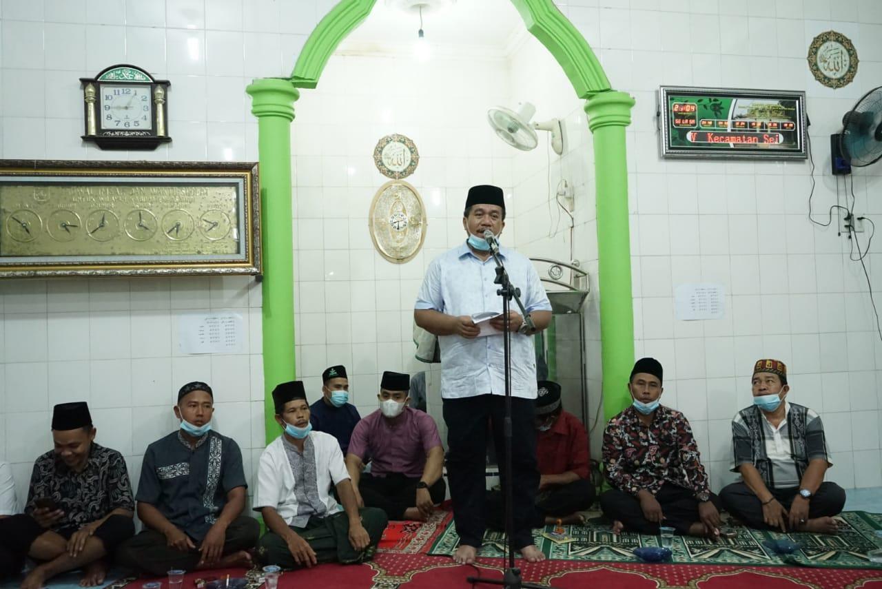 Safari Ramadhan, Wabup Asahan Himbau Masyarakat Selalu Terapkan Prokes Covid-19