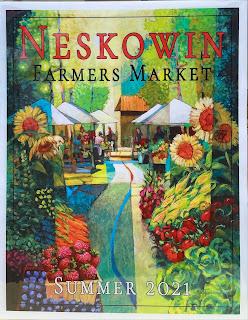 Neskowin Farmers Market poster.