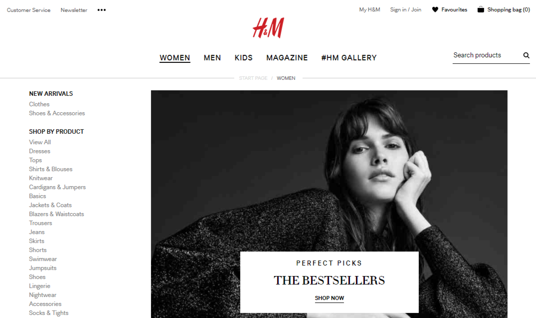 H&M Online Shopping and Shipping to the Philippines Review