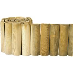 Beeteinfassung aus Holz