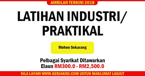tempat latihan industri 2018