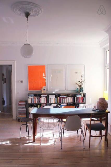 Modern family apartment in Berlin
