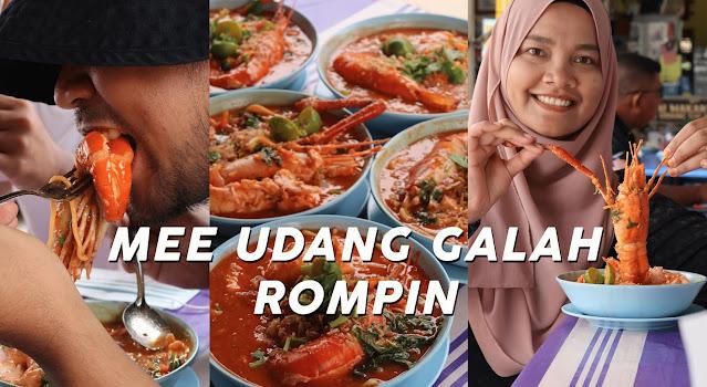 mee udang gerai makan azizah