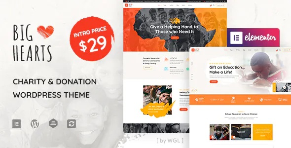 Best Charity & Donation WordPress Theme