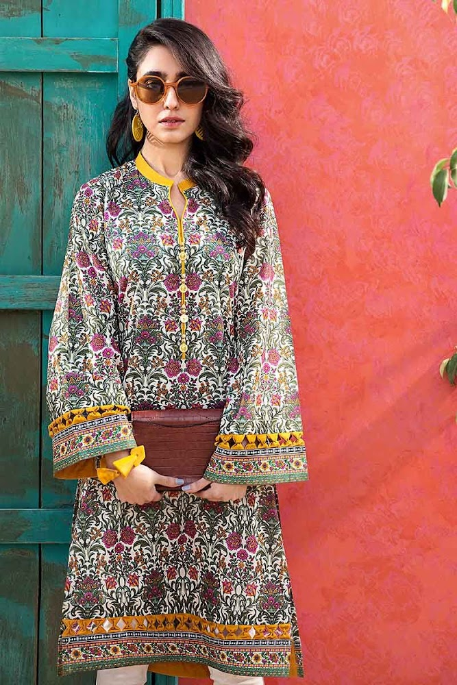 Gul Ahmed Mother's Lawn Collection
