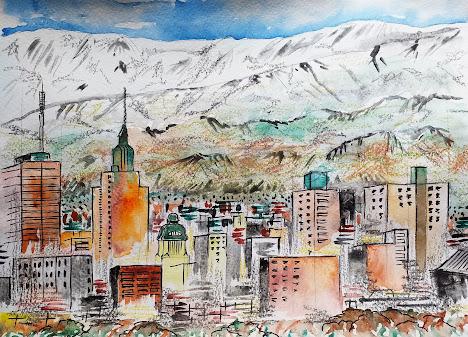 Chile ilustracion