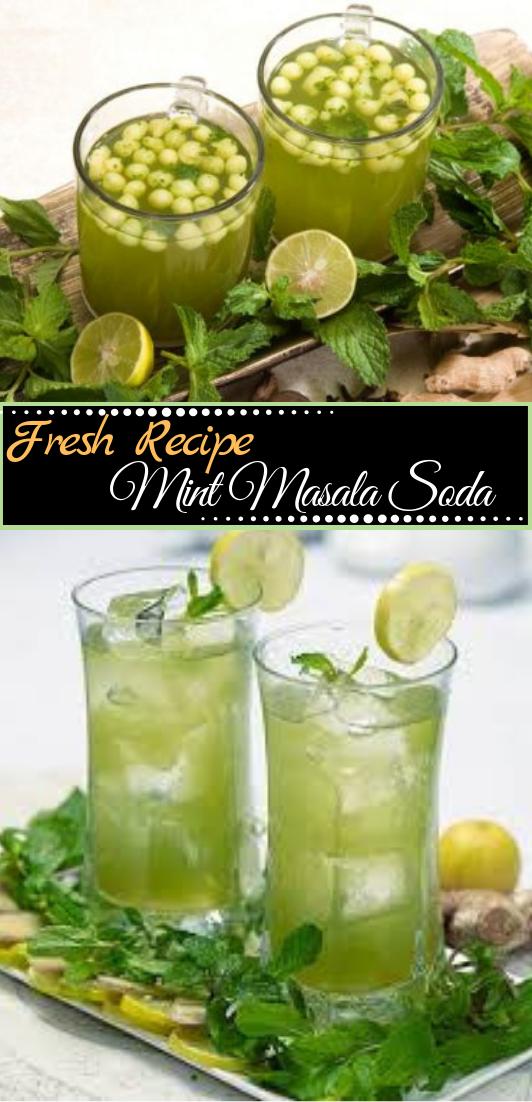 Mint Masala Soda Recipe  #healthydrink #easyrecipe #cocktail #smoothie