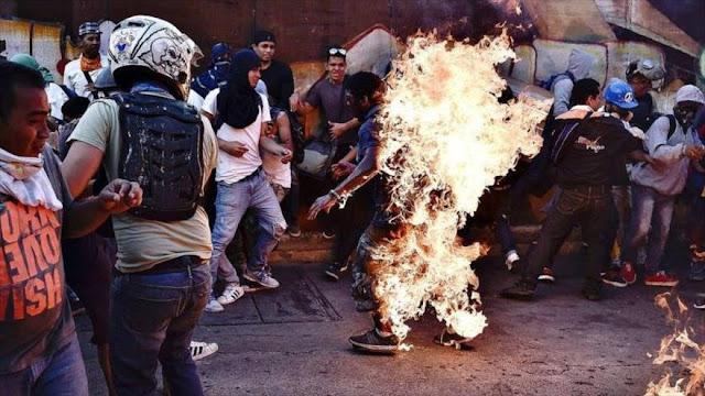 """""""Crímenes de la oposición venezolana es como apología al Daesh"""""""
