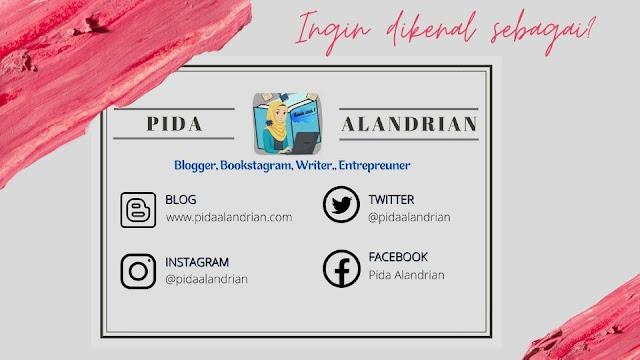 Kartu nama Pida Alandrian