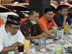 Pererat Silaturahmi, LPM Kota Padang Adakan Buka Puasa Bersama