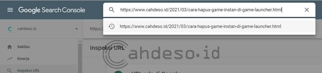 Memanfaatkan Google Search Console Tools