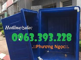 Thùng nhựa chữ nhật, thùng nhựa đựng hóa chất 201809154015_2000