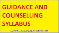 guidance and couselling syllabus, best book for guidance and counseling
