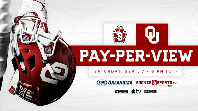 Oklahoma vs. South Dakota will air on New Boston's 658 HD channel