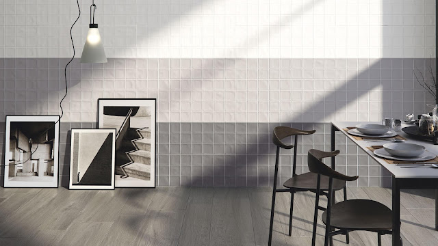 Tiles decoration ideas of Creta series