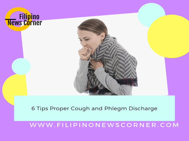 Let us remember that when we are sick and coughing, showing germs from the mouth and nose into your mouth and nose of someone else.
