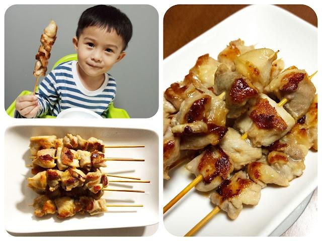 【食譜分享】小朋友超like!超簡單自家製雞串!