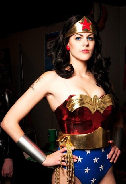 sexy wonderwoman costume