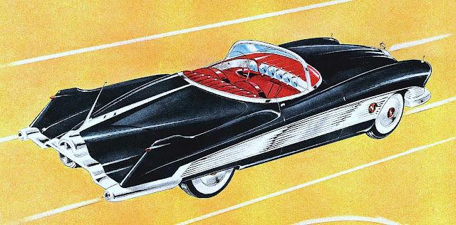 a 1951 Alexis De Sakhnoffsky conceptual design