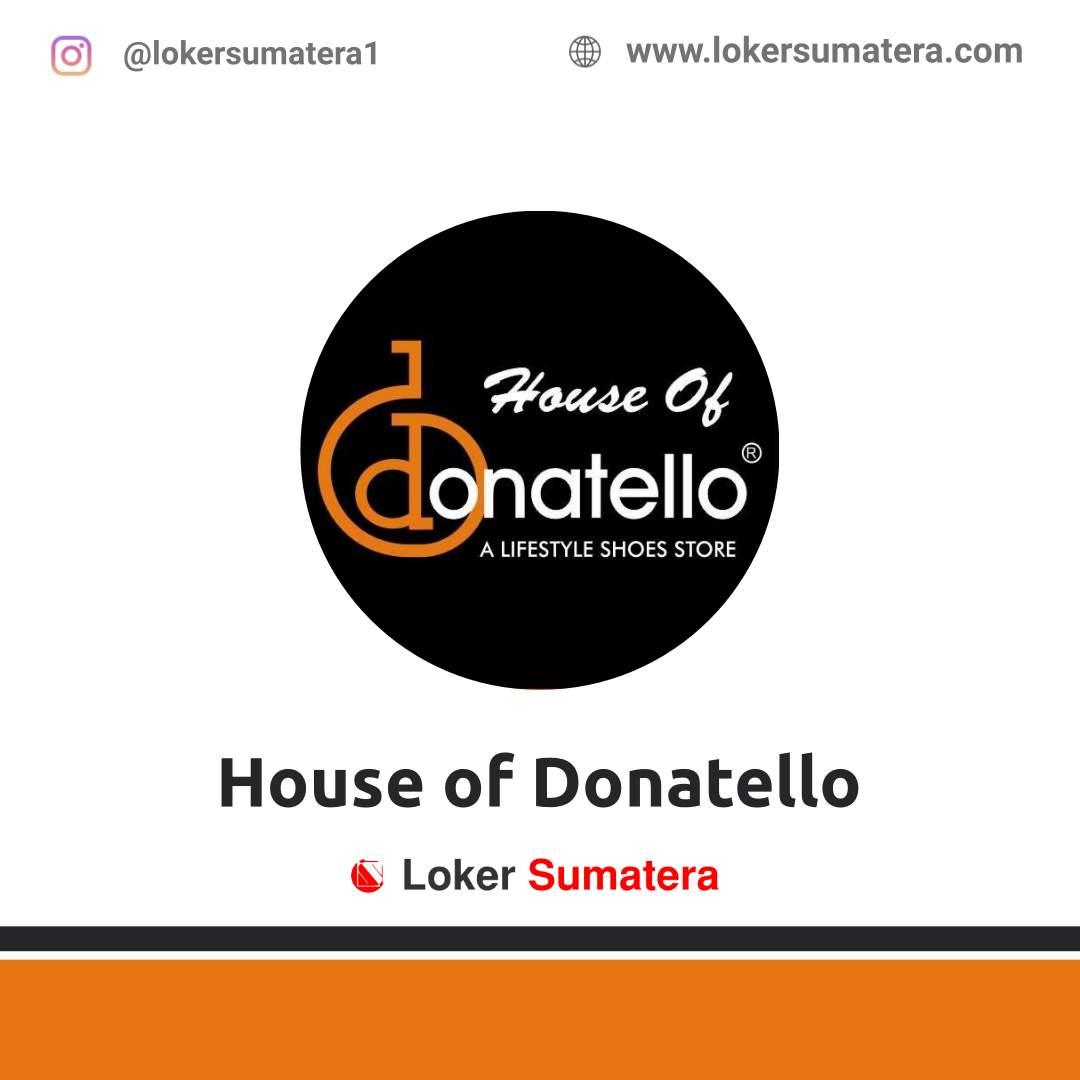 Lowongan Kerja Palembang: House of Donatello Desember 2020