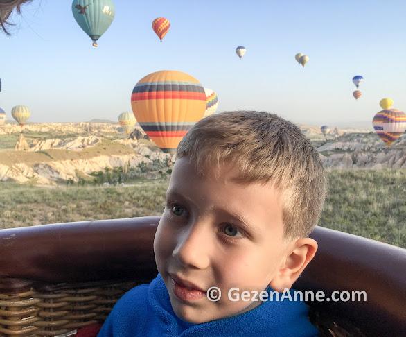 Çocukla balon turu, Kapadokya balon turumuz