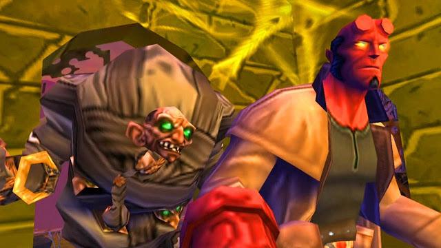 تحميل لعبة فتي الجحيم Hellboy