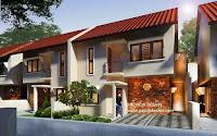 Gambar 3d Rumah 2 Lantai