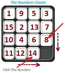 Game numbers image