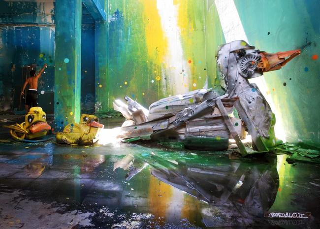 bordalo Artes Sustentáveis: Decoração Urbana