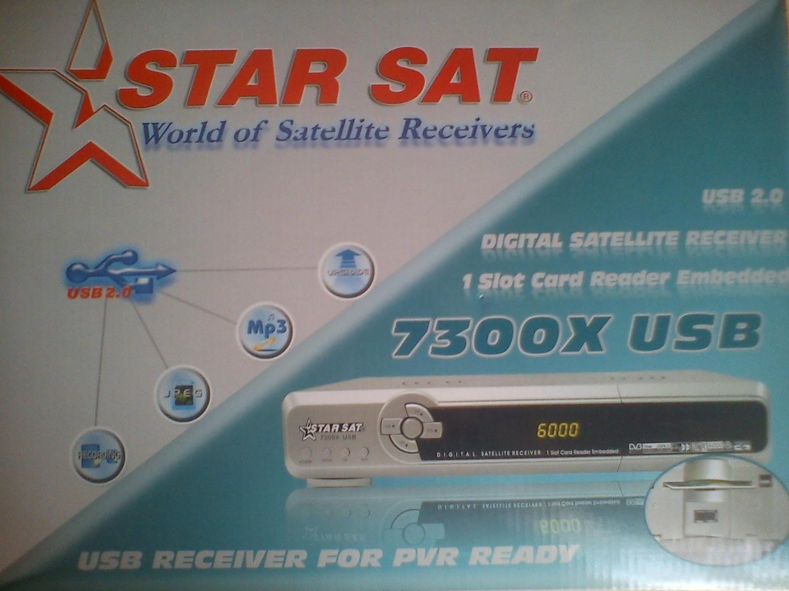 loader starsat 7300cu super