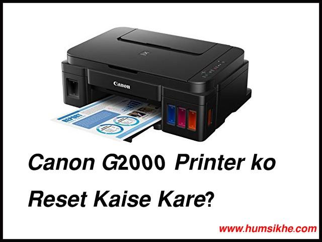 Error 5b00 Canon G2000