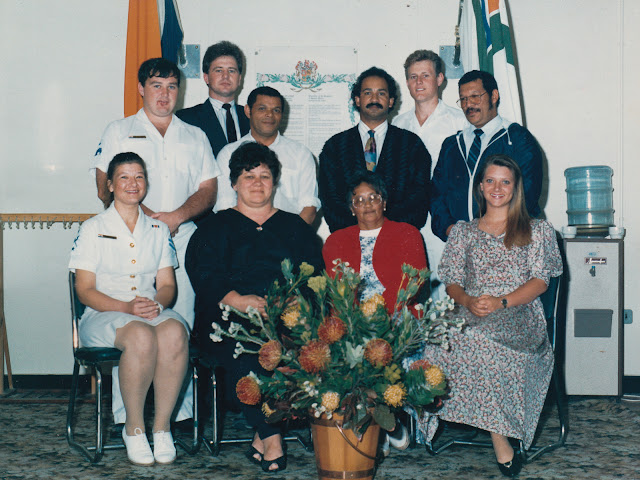 Labour Relations Training SAS Simonsberg Simon's Town Photo Credit: SA Navy