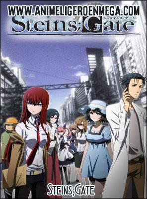 Steins;Gate: Todos los Capítulos (24/24) + OVA (01/01) + Película [Mega - MediaFire - Google Drive] BD - HDL