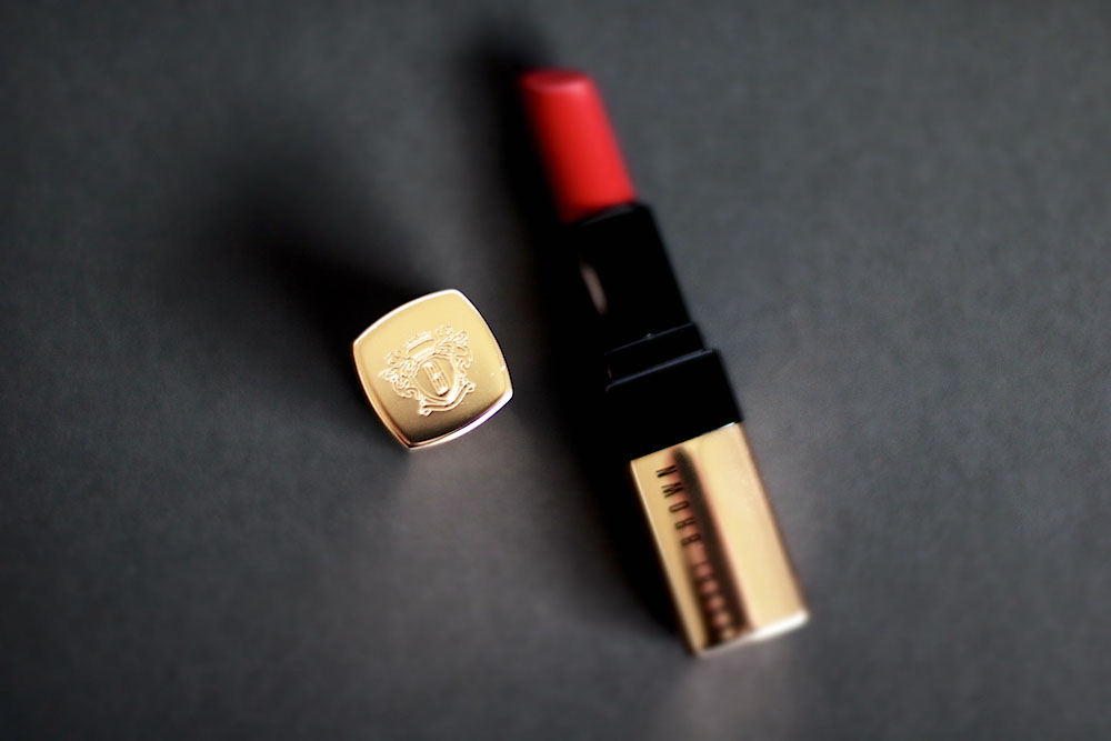 bobbi brown luxe lip color rouge à lèvres avis test swatch