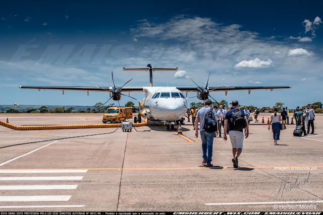 Companhia aérea VoePass já retomou voos em 13 destinos | Foto © Herbert Monfre - Fotógrafo de avião - Eventos - Publicidade - Ensaios - Contrate o fotógrafo pelo e-mail cmsherbert@hotmail.com | Imagem produzida por Herbert Pictures - É MAIS QUE VOAR